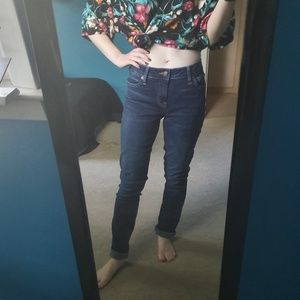 Lucky brand high rise jeans